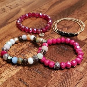 NEW & use bracelet lot